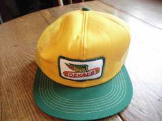 Mens Dekalb flying ear logo seed corn vintage ball truckers farmer cap hat | eBay $13