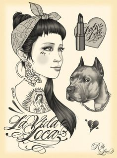 Rik Lee   love his art I will get his art tatooed on me !!