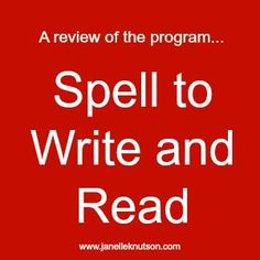 spell to write and read