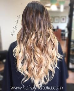 Balayage Ombre color melt. Balayage in Denver. #balayage #ombre #balayageombre…