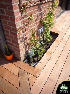 Terrasse Ipe de 70m² – Ambiance Wood Back Deck, Wood, Plants, Spa, Gardens, Wood Construction, Barn, Woodwind Instrument, Timber Wood
