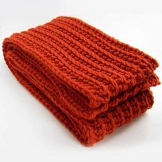 Crochet Ribbed Scarf. It's like knitting, only better!