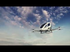 Is the world of autonomous single-passenger drones just over the horizon? A…