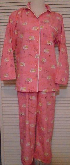 765589c2a524 Munki Munki Pajamas Lg Pink with Ice Cream Truck  amp  Kids 100% Cotton