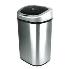 Nine Stars Infrared Touchless Stainless Steel Trash Can - LOVE IT!!