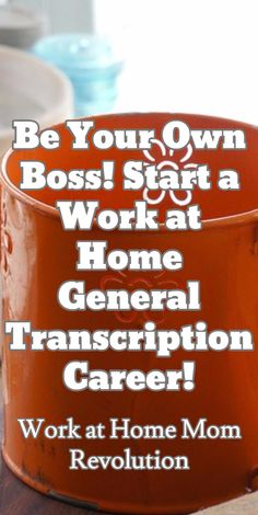 Be Your Own Boss! Start a Work at Home General Transcription Career! / Work at Home Mom Revolution Resume Advice, Business Advice, Make Money Online, How To Make Money, Medical Transcription, Find A Career, Self Employment, Busy At Work, Wood Home Decor