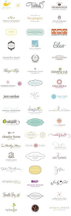Simply Beautiful Logos.