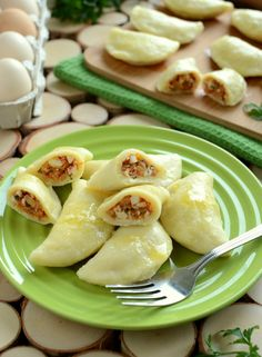 Gotuj z Cukiereczkiem: Pierogi dominikańskie Dumpling Recipe, Dumplings, Ravioli, Dominican Food, Dominican Recipes, Polish Recipes, Polish Food, Dinner Salads, Gnocchi