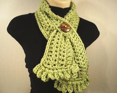 Hey, I found this really awesome Etsy listing at https://www.etsy.com/listing/155965708/crochet-scarf-cowl-with-button-easy-on