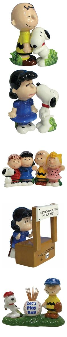 Spice up your dinner with Snoopy, Charlie Brown and Peanuts salt and pepper shakers. Start shopping at CollectPeanuts.com to help support our site.