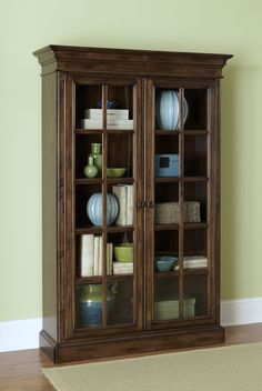 Mertie Large Library Cabinet