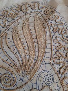 Needle Tatting, Needle Lace, Bobbin Lace, Hand Embroidery Designs, Embroidery Kits, Ribbon Embroidery, Crochet I Cord, Romanian Lace, Batik Art