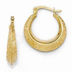 Small Hoop Earrings https://www.goldinart.com/shop/earring/14k-earrings/small-hoop-earrings #HoopEarringsInYellowGold