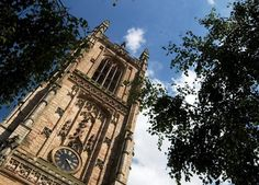 This is Derby Cathedral. One of the tallest Cathedral towers in England.