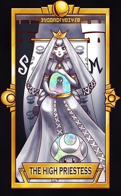 High Priestess holding the Assist Trophy of secrets, lol ============================= For more Super Smash Tarot Cards, please this de. Peach - The High Priestess Super Smash Bros Characters, Super Smash Bros Brawl, Super Mario Bros, Baby Pokemon, Cute Pokemon, Video Game Anime, Video Game Art, Super Smash Ultimate, Hey Bro