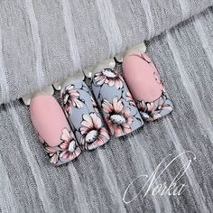 Nails Pink Shellac Art Designs For 2019 Nail Art Designs, Gel Designs, Nails Design, Pink Shellac, Blue Nails, Nagellack Design, Uñas Fashion, Trendy Nail Art, Super Nails