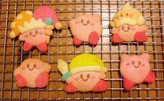 Kirby cookie