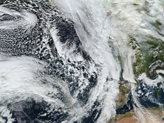 Satellite image shows Storm Frank approaching Britain. Arctic 'flip' on the way?