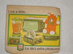 There were lots of stuff to get with your Green Stamps.