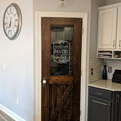 p/pantry-door-decal-custom-pantry-door-kitchen-decal-home-decor-sticker-decal-wall-kitchen-pan - The world's most private search engine Kitchen Pantry Doors, Kitchen Pantry Design, Home Decor Kitchen, Kitchen Styling, Rustic Kitchen, Screen Door Pantry, Rustic Pantry Door, Pantry Room, Kitchen Cupboards