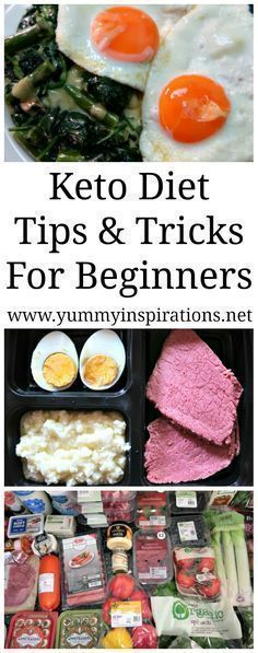 Keto Tips For Beginners - Tips and Tricks for Ketogenic Diet Success with weight loss when you're starting out with the low carb keto way. #ketogenicdiet