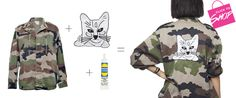 Cat Patch Jacket