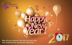 Happy New Year from Unicorn Children's Foundation!!!