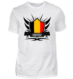 Belgien/Belgium Proud Wappen Flagge 011 T-Shirt Mens Tops, Fashion, Flag, Belgium, Crests, Moda, Fashion Styles, Fasion