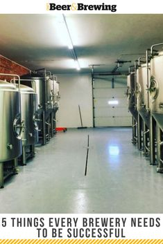 5 Things Every Brewery Needs To Be SuccessfulYou can find Home brewery and more on our Things Every Brewery Needs To Be Successful Home Brewery, Local Brewery, Home Brewing Beer, Starting A Brewery, Brew Your Own Beer, Brewery Design, Brewing Equipment, Brew Pub, Tap Room