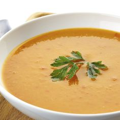 Coconut and curry is a winning combination that tastes amazing in this rich and creamy pumpkin soup!