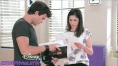 Violetta 3 - Diego y Francesca unen las letras - Episodio 77