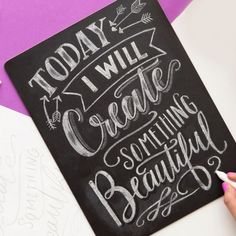Intro To Chalk Lettering Online Class