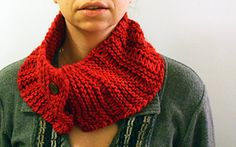"""Schmatta"" - Scarf/cowl thing, on AmyChicken's ravelry page, pattern link to Mason-Dixon blog."