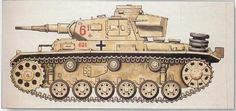 Panzer III  Ausf f Afrika Korps