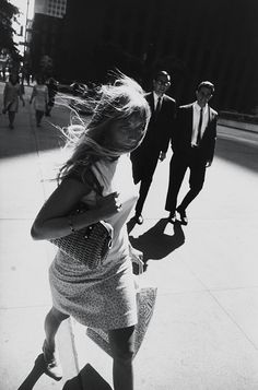 "Garry Winogrand (American, 1928–1984). New York, 1965. Gelatin silver print. Collection of Randi and Bob Fisher.  © The Estate of Garry Winogrand, courtesy Fraenkel Gallery, San Francisco. All rights reserved.| This photograph is featured in ""Garry Winogrand,"" on view through September 21, 2014. #newyork #nyc"