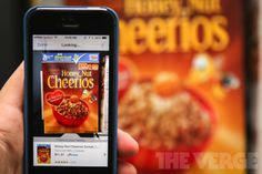 2014.2.7 |Amazon's 'Flow' uses your iPhone's camera to make a shopping list