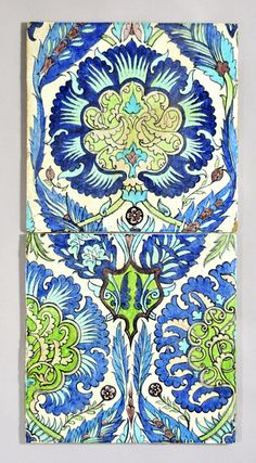 William De Morgan Persian tiles by robmcrorie, via Flickr