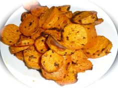 A favorite for most people is fries or chips.  For diabetics this is not the best food choice.  Here is your replacement.    These are guilt-free chips, You can enjoy these as a snack, or as an addition to your meal.     Being made of sweet potato, they are low GI, which means they take longer to digest, therefore keep you full for longer and don't turn into sugar so quickly once you eat them. These are chips that diabetics can enjoy. Low Gi Diet, Low Gi Foods, Low Glycemic Diet, Clean Eating Recipes, Raw Food Recipes, Cooking Recipes, Healthy Recipes, Healthy Food, Low Gi Snacks