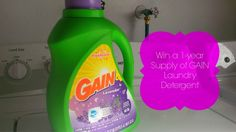 Best Scents in My Clothes. I'm Becoming Obsessed! #Giveaway for 1 year supply of GAIN!  #GainAroma