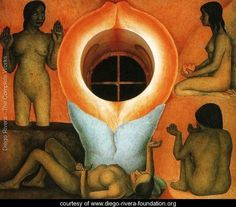 Maturation (Maduracion) 1926 to 27 - Diego Rivera - www.diego-rivera-foundation.org