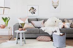 quelle couleur pour un salon scandinave exemple peinture neutre couleur pastel