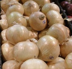 Vidalia onions:  My father loved these!  He'd eat onion sandwiches of sliced onion on bread with mayo!