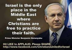 This is actually a lie. Look up Christianity in the Middle East. My goodness. How do Christians expect to please a God who abhors deception, while deceiving to protect a people who masquerade as descendants of Jacob?