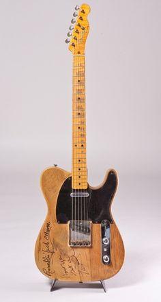 Tele Tuesday - Albert Lees 1953 Fender Telecaster...                                                                                                                                                                                 More