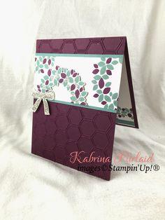 By Kabrina Piirlaid | INKspired Artist Blog Hop - Sketch 2 | Wondrous wreath | Stampin'Up!