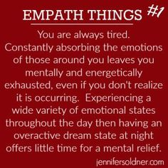 Empaths naturally carry a heavy load throughout the day. Often times highly sensitive people, the empath feels an intense level of fluctuating emotions in response to things occurring around them. Empath Traits, Intuitive Empath, Life Lesson Quotes, Life Lessons, Life Quotes, Wisdom Quotes, Quotes Quotes, Empathy Quotes, Music Quotes