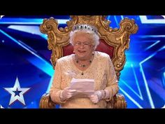 Her Majesty, the Queen, joined us for the first audition of 2019 and she did NOT hold back! Watch as The Queen gives the Judges a right, royal rollicking! Britain's Got Talent Judges, Ethiopian Music, Britain Got Talent, Dalek, Comedy, Queen, Jealousy, Youtube, England