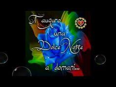 Buonanotte - YouTube Neon Signs, Youtube, Good Night