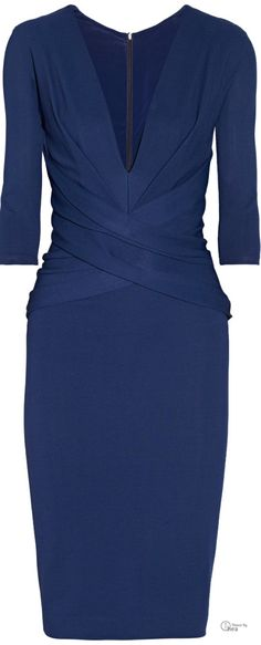 Donna Karan ● ponte dress