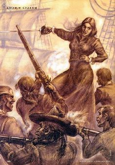 Artist's depiction of Grace O'Malley. Credit: Anton Batov . Ambitious and fiercely independent, her exploits eventually became known through all of Ireland and England. By March, 1574, the English felt they could no longer ignore her 'predatory sieges', so a force of ships and men laid siege to O'Malley in Rockfleet Castle. Within two weeks, the Pirate Queen had turned her defence into an attack and the English were forced to make a hasty retreat.